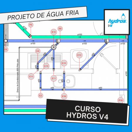 Curso Hydros – Projeto de Água Fria