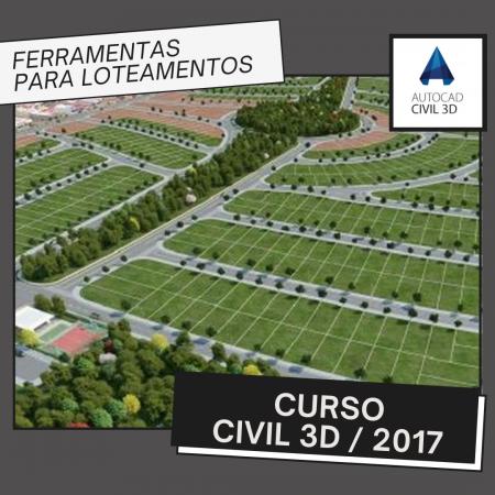 Curso Autocad Civil 3D 2017 – Ferramentas Loteamentos