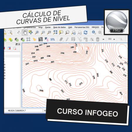 Curso Informação Geográfica – Cálculo de Curvas de Nível