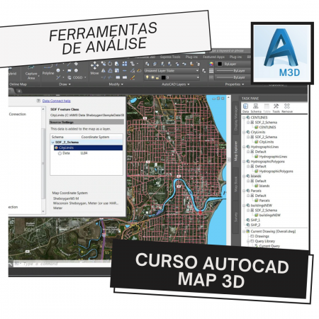 Curso Autocad Map 3D – Ferramentas de Análise