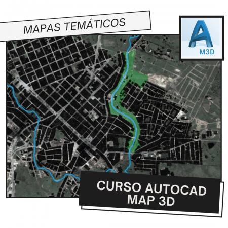 Curso Autocad Map 3D – Mapas Temáticos